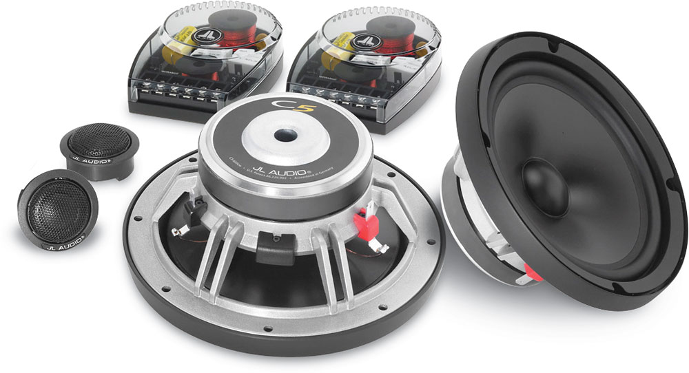JL Audio C5650 Evolution C5 Series 634 component speaker