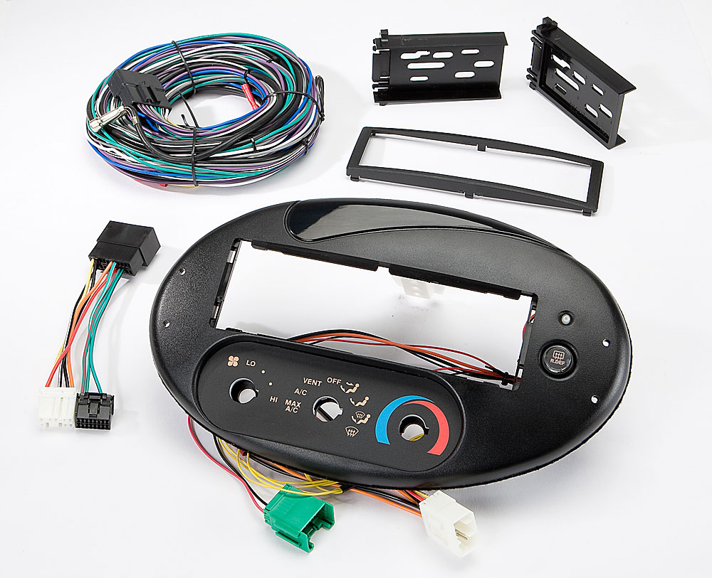 Scosche FD134030B Dash and Wiring Kit Install and connect a new car stereo  in select 1996-99 Ford Taurus and Mercury Sable models with the factory  rotary ...