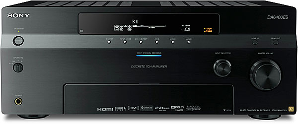 Sony ES STR-DA6400ES Home theater receiver with HDMI switching and video upconversion