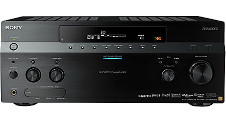 Sony ES STR-DA5400ES Home theater receiver with HDMI switching and video upconversion