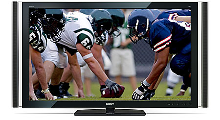 """Sony KDL-55XBR8 55"""" BRAVIA® XBR® 1080p LCD HDTV with 3-color LED backlight"""