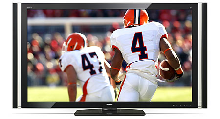 "Sony KDL-70XBR7 70"" BRAVIA® XBR® 1080p LCD HDTV with 120Hz refresh rate"
