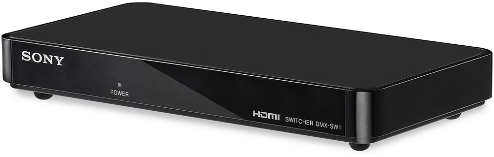 Sony DMX-SW1 BRAVIA® Input Link 4-in/1-out HDMI hub at