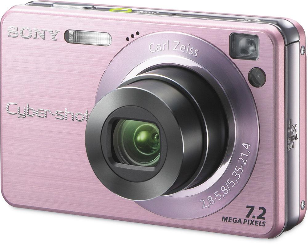 sony cyber shot dsc w120 pink 7 2 megapixel digital camera with 4x rh crutchfield com Sony Cyber-shot DSC-H70 Manual Manual Sony DSC