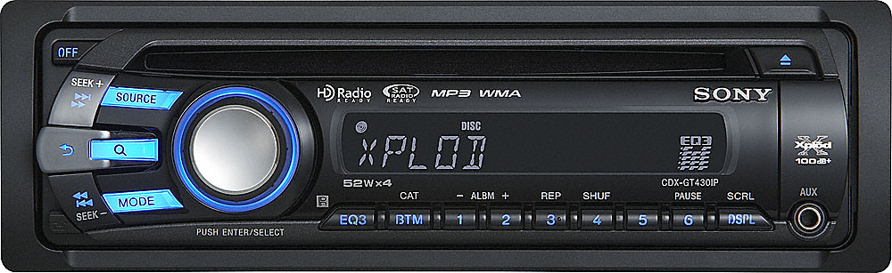 sony xplod cdx gt430ip cd receiver at crutchfield com rh crutchfield com sony cdx-gt430ip manual Sony Gt260mp