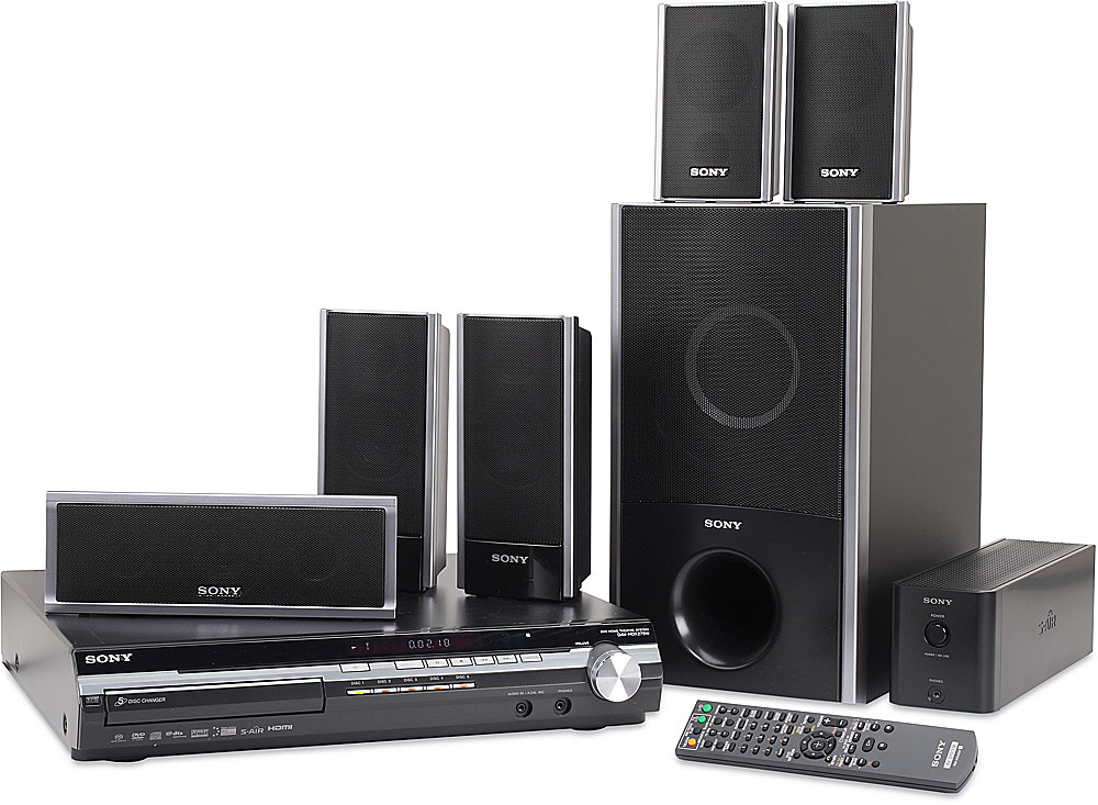 sony dav hdx279w 5 disc bravia dvd home theater system. Black Bedroom Furniture Sets. Home Design Ideas