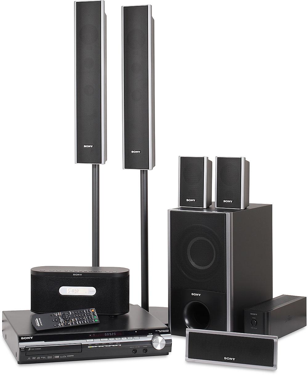 Sony DAV-HDX576WF 5-disc BRAVIA® DVD home theater system ...