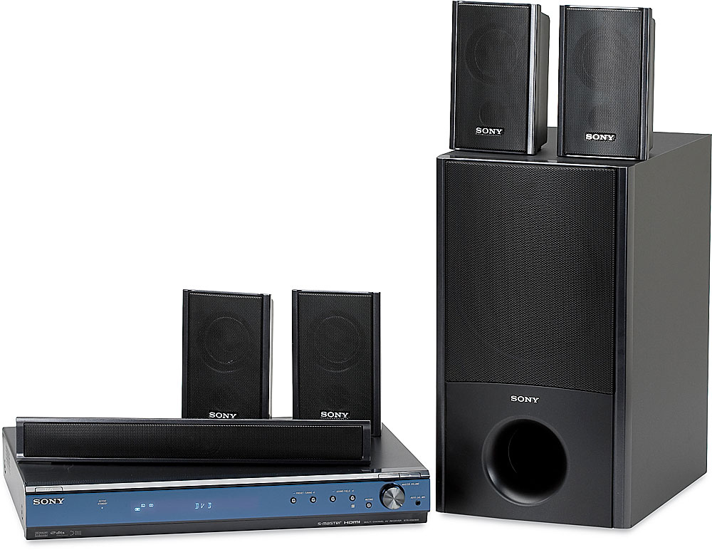 Sony HT-SS2300 BRAVIA® home theater system for Sony Blu-ray Disc ...