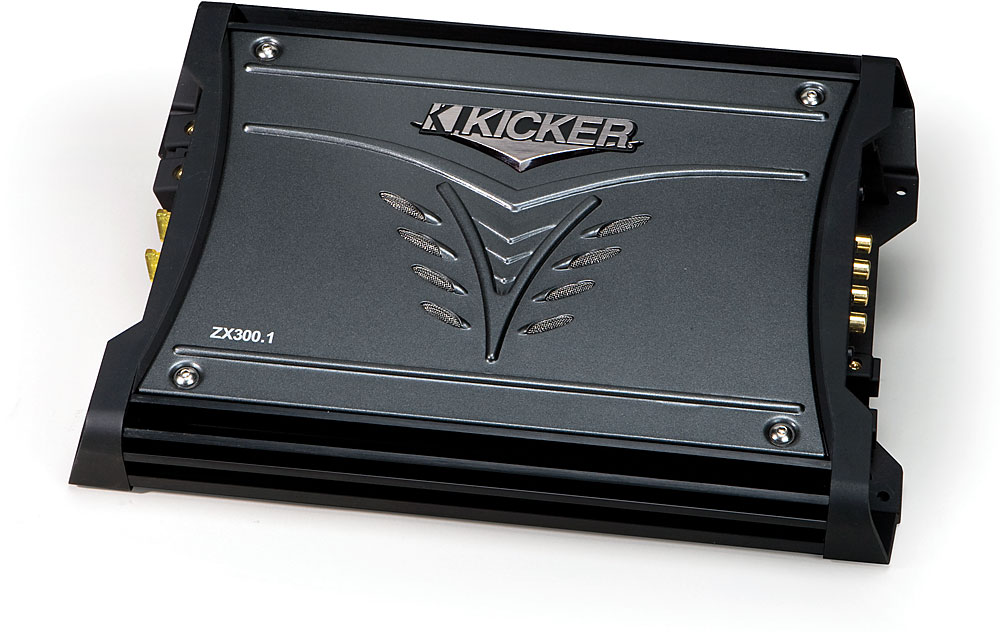 x2068ZX3001 f kicker 08zx300 1 mono subwoofer amplifier 300 watts rms x 1 at 2 kicker zx300 1 wiring diagram at eliteediting.co