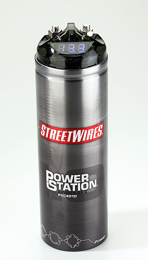 StreetWires Power Station PSC401D 1-farad capacitor (20/24
