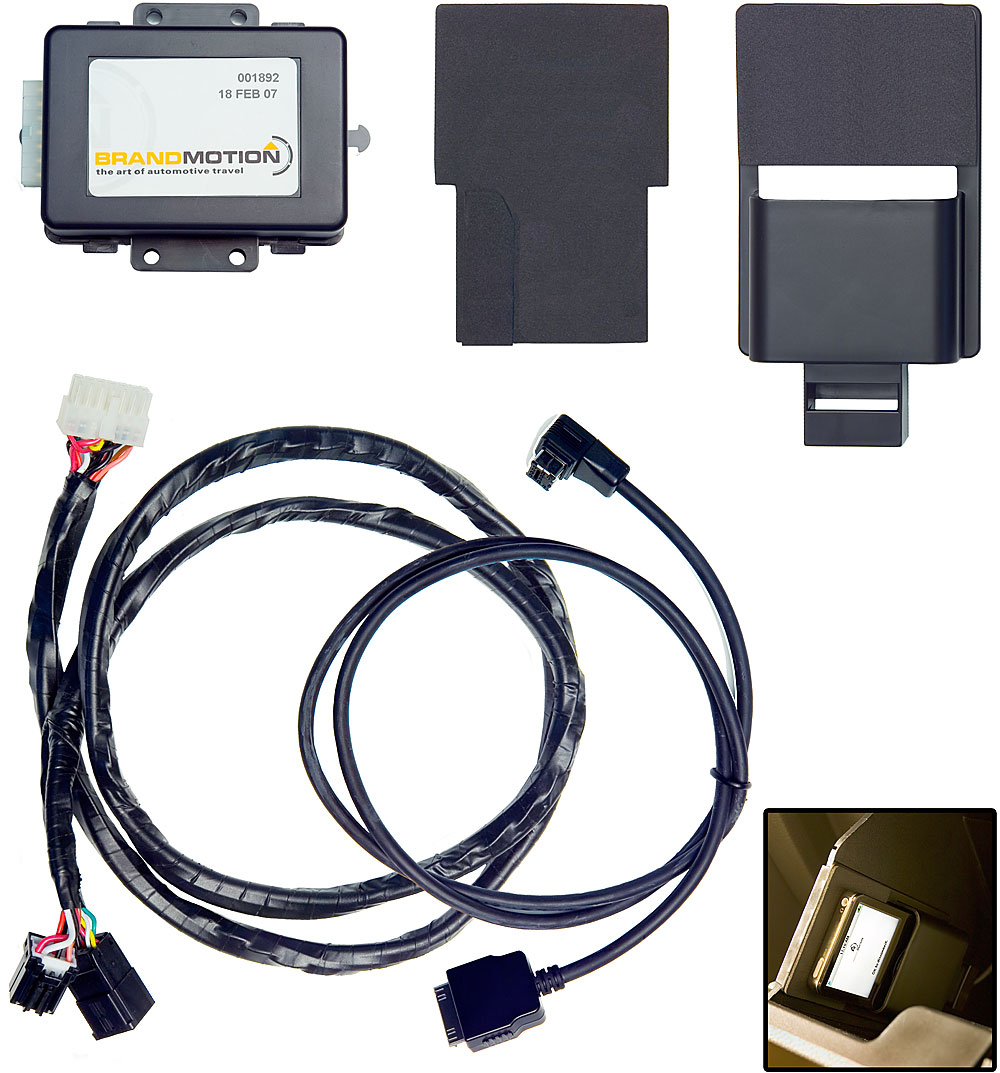 BrandMotion Ford iPod® Adapter For select 2005-up Ford-built vehicles  without factory satellite radio at Crutchfield.com