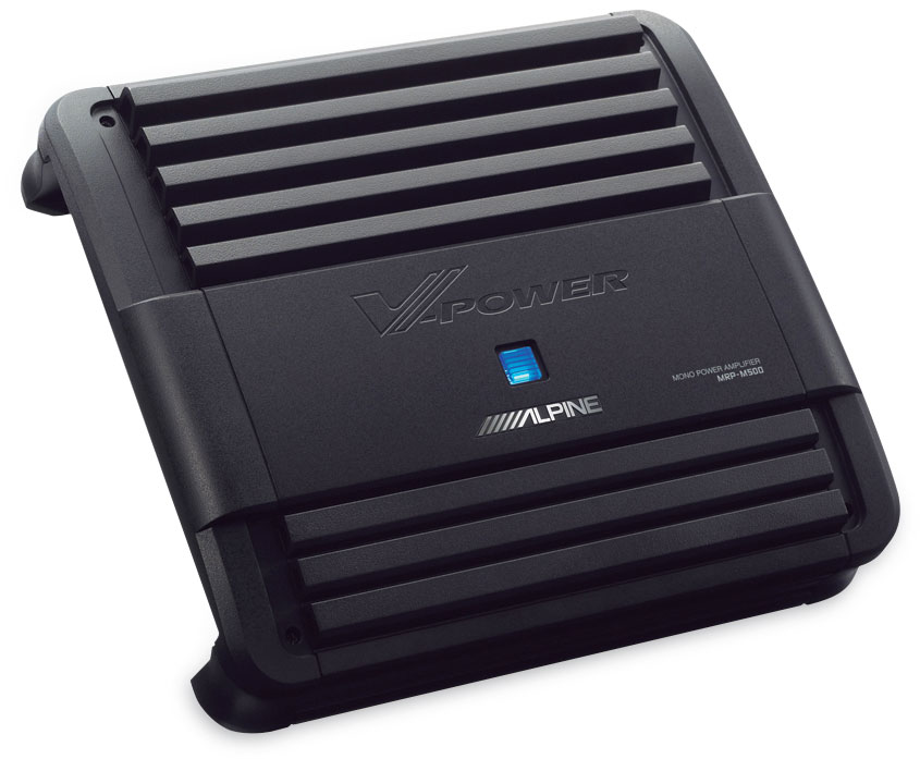x500MRPM500 f alpine mrp m500 mono subwoofer amplifier 500 watts rms x 1 at 2 alpine mrp-f250 wiring diagram at fashall.co
