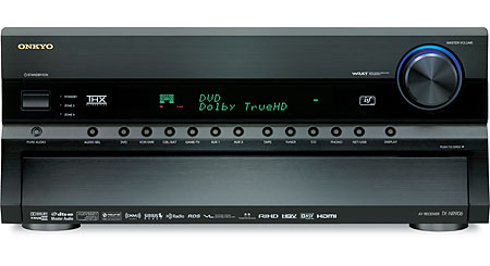 Onkyo TX-NR906 THX® Ultra2 Plus home theater receiver with HDMI switching and upconversion