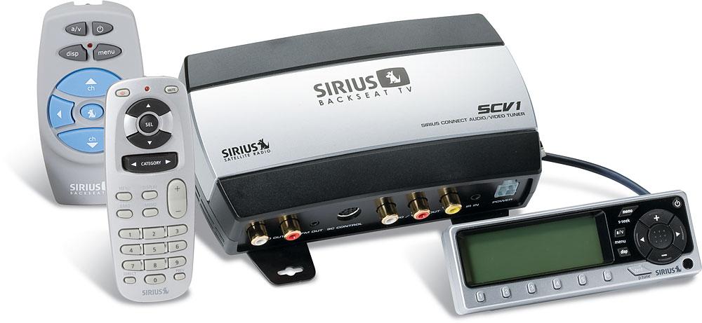 SIRIUS SCV1 Backseat TV™ System