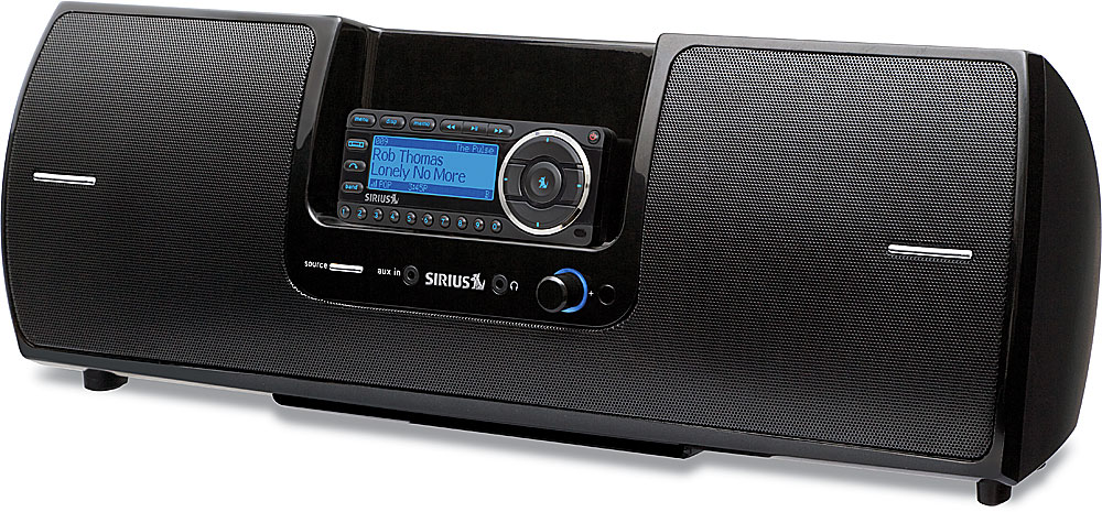 Sirius Subx2 Boombox Portable Audio System For Select