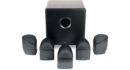 Mirage Nanosat 5.1 Compact Home Theater Speaker System