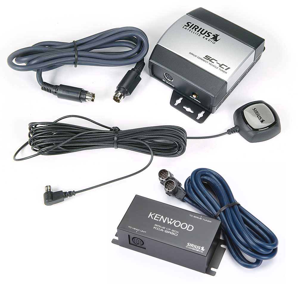 Sirius Kenwood Package Get Radio Reception On Your Kvt 819 Wiring Harness 4 Pin Car Stereo At