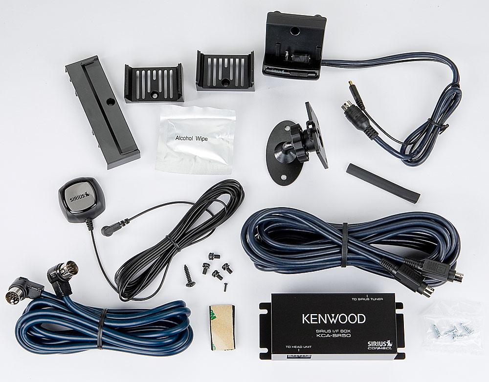 Kenwood KCA-SR50 Sirius Interface BOX for Connecting Kenwood Head Units