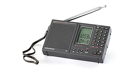Grundig G4 World Recorder AM/FM/shortwave radio with MP3 playback