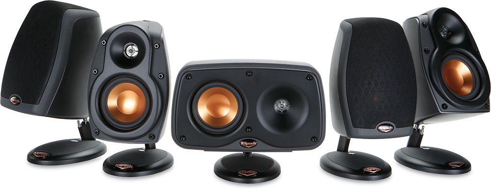 klipsch 3 1 system. klipsch rsx-3/rcx-3 home theater speaker system 4 compact satellites and 1 center channel at crutchfield.com 3 e