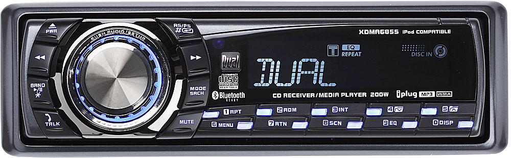 dual xdma6855 cd receiver at crutchfield com rh crutchfield com