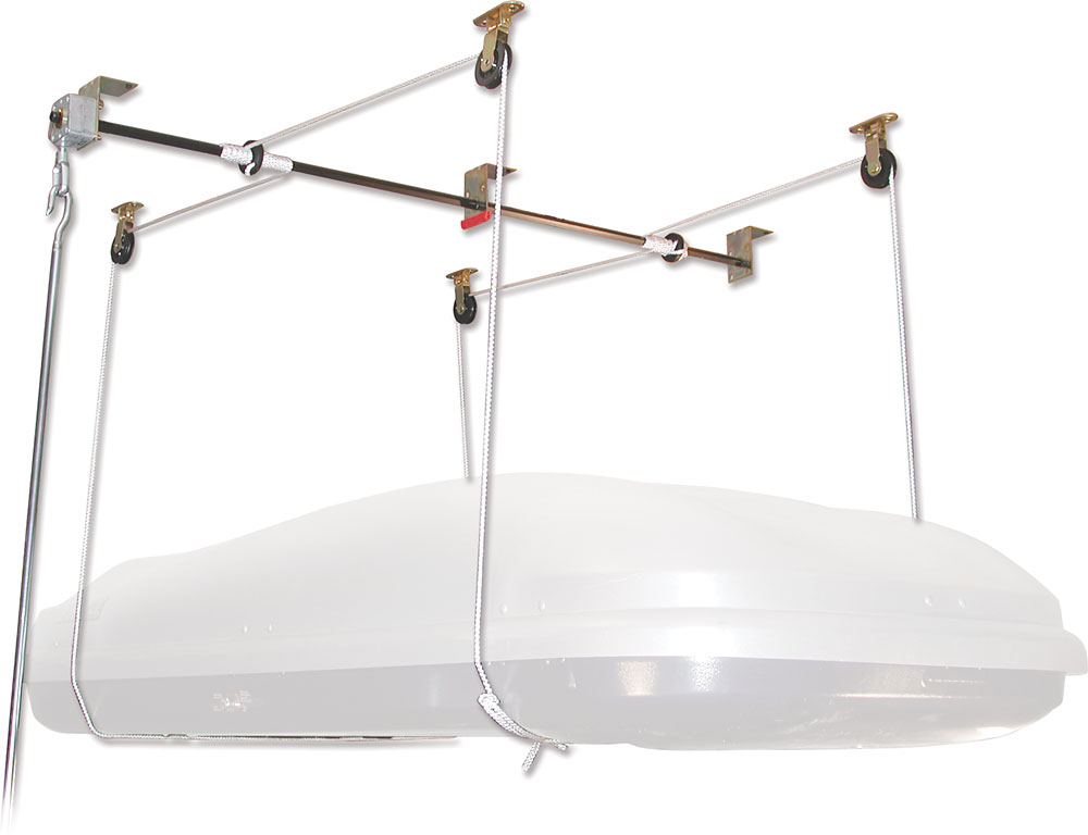 Thule 571 Box Lift Ceiling Hung Storage System At Crutchfield