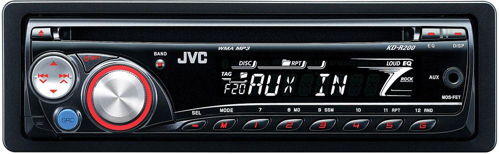 JVC KDR200 CD receiver at Crutchfield – Jvc Kd S16 Car Stereo Wiring Diagram