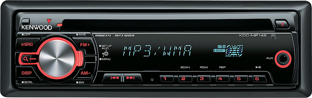 Kenwood KDC-MP142 CD receiver at Crutchfield on car amplifier wiring diagram, kenwood kdc plug diagram, pioneer amp wiring diagram, car stereo wiring diagram, cd player wiring diagram, pioneer premier wiring diagram, marine stereo wiring diagram, head unit wiring diagram,