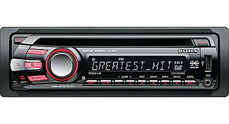 Sony Drive S Xplod Car Stereo Manual