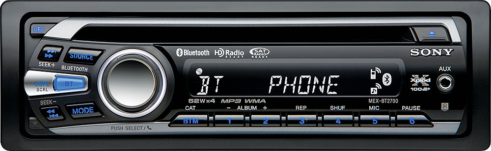 sony xplod mex bt2700 cd receiver at crutchfield com rh crutchfield com PW Sony MEX BT 31 Sony MEX- BT3100P Wiring-Diagram