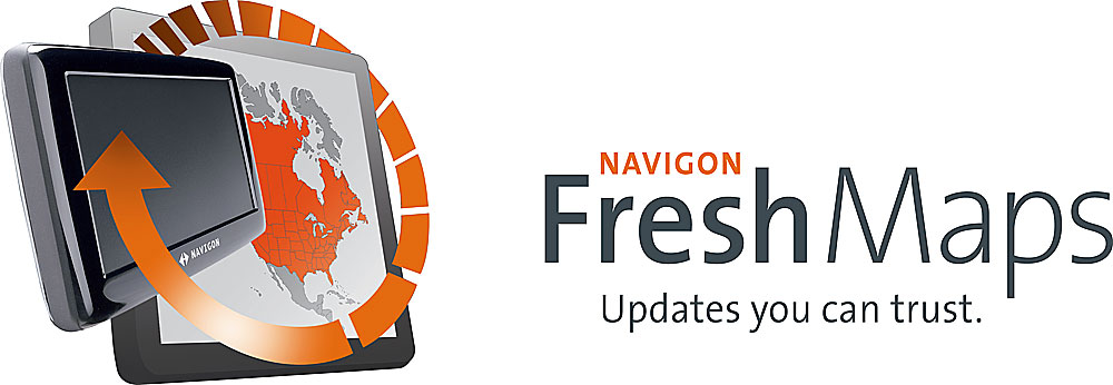 NAVIGON® FreshMaps Map updates for your NAVIGON portable navigator