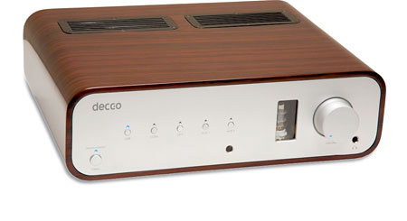 Peachtree Audio Decco Stereo integrated amplifier with built-in digital-to-analog converter