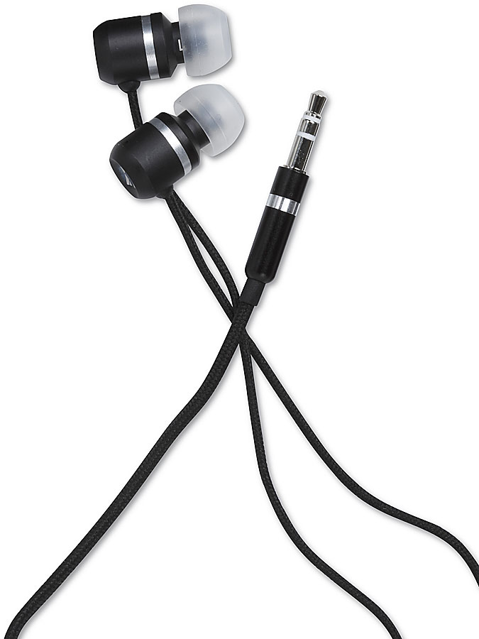 Kicker Eb101 Black Portable Earbud Headphones At Crutchfield Com