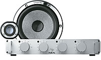"Focal Utopia BE NO.6 6-3/4"" 2-WAY Components With Crossblock"
