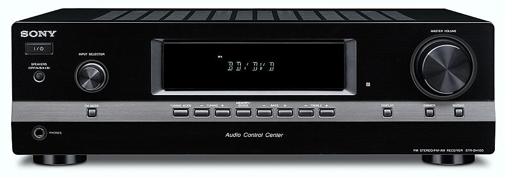sony str dh100 stereo receiver at crutchfield com rh crutchfield com Sony STR Dh100 Manual sony str-dh100 specifications