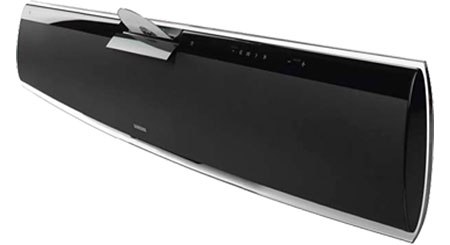 Samsung HT-X810T Powered home theater sound bar with built-in DVD player and wireless subwoofer