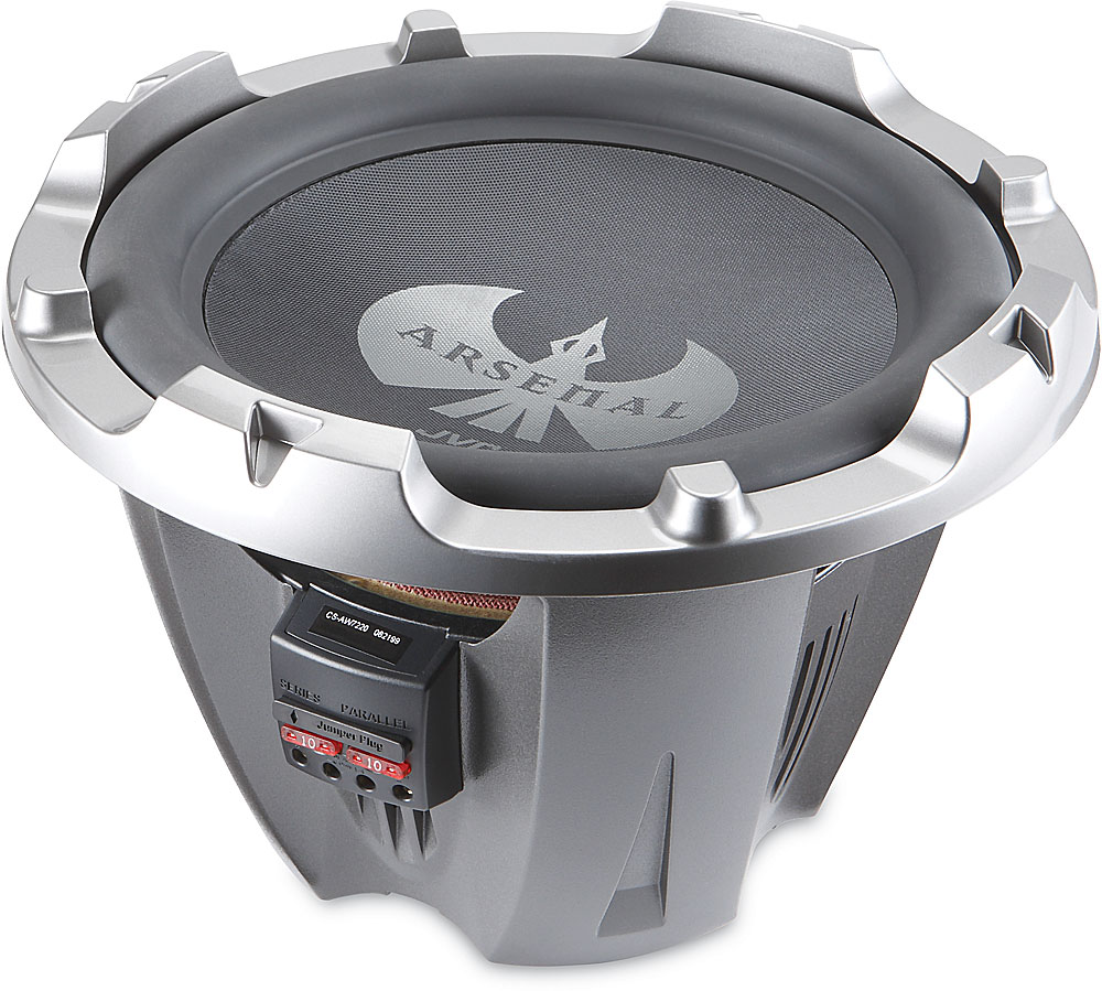 Jvc Arsenal Cs Aw7220 12 Subwoofer With Dual 2 Ohm Voice Coils At Wiring Diagram