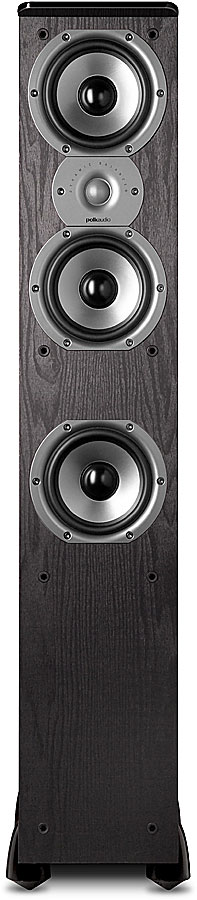 Polk Audio TSi400 Black Floor Standing Speaker At Crutchfield