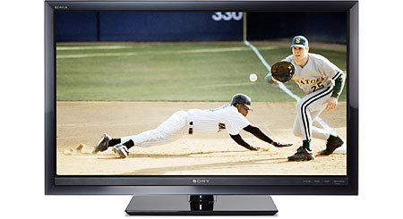 "Sony KDL-40W5100 40"" BRAVIA® W-Series 1080p LCD HDTV with 120Hz anti-blur technology"