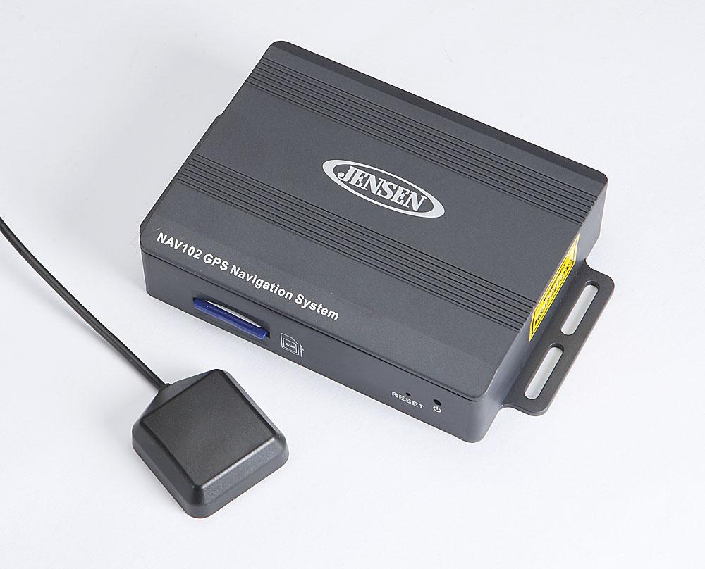 Jensen NAV-102 Navigation system for select Jensen navigation-ready  receivers at Crutchfield.com