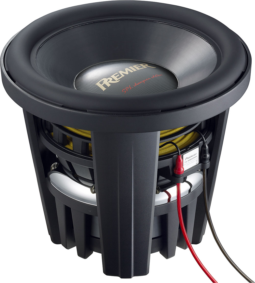 Pioneer Premier Ts W8102spl Spl Champion Series 15 Sub With Dual 2 Inceiling Speaker At Crutchfield On Surround Sound Subwoofer Wiring Ohm Voice Coils