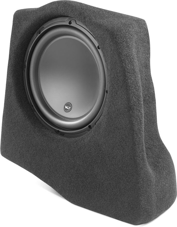 Jl Audio Stealthbox® Customfit Fiberglass Enclosure With 10\ W3v3 Rhcrutchfield: 2007 Ford Edge Custom Audio At Gmaili.net