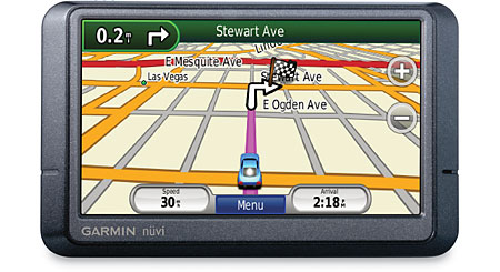 Garmin nuvi® 465T Portable navigator for truckers