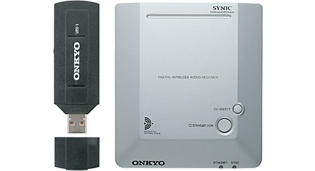 Onkyo UWL-1 Stream music wirelessly to your home audio system