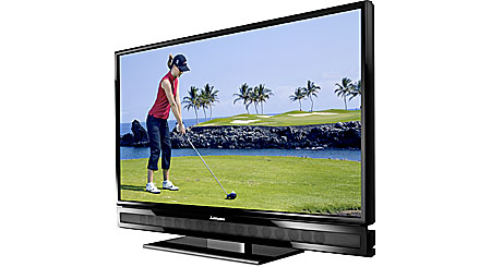 "Mitsubishi LT-52153 52"" 1080p LCD HDTV with integrated 16-speaker surround system"