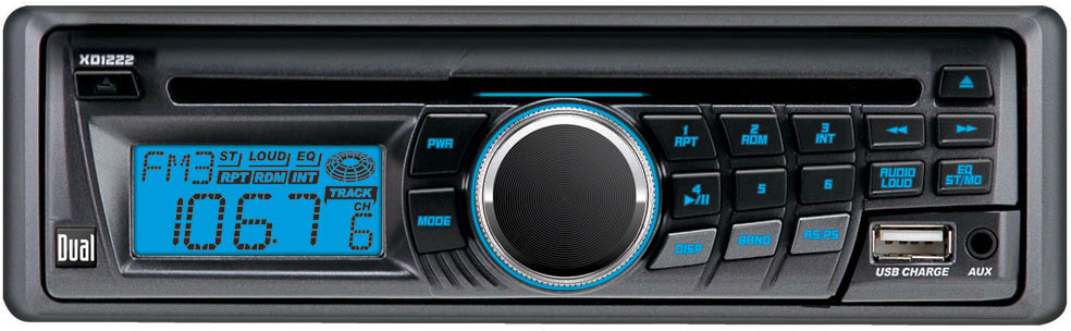 Dual XD1222 CD receiver at Crutchfield.com