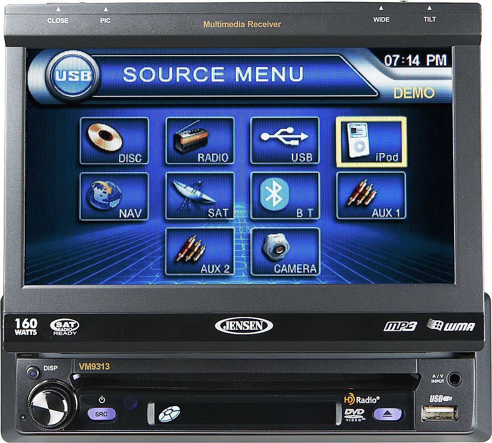 Jensen Dvd Player With Radio Wiring Diagram Car Stereo Vm Diagrams Touch Screen