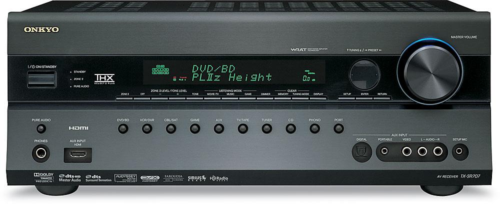 onkyo tx sr707 home theater receiver at crutchfield com rh crutchfield com Onkyo TX SR707 Specs onkyo av receiver tx-sr707 manual