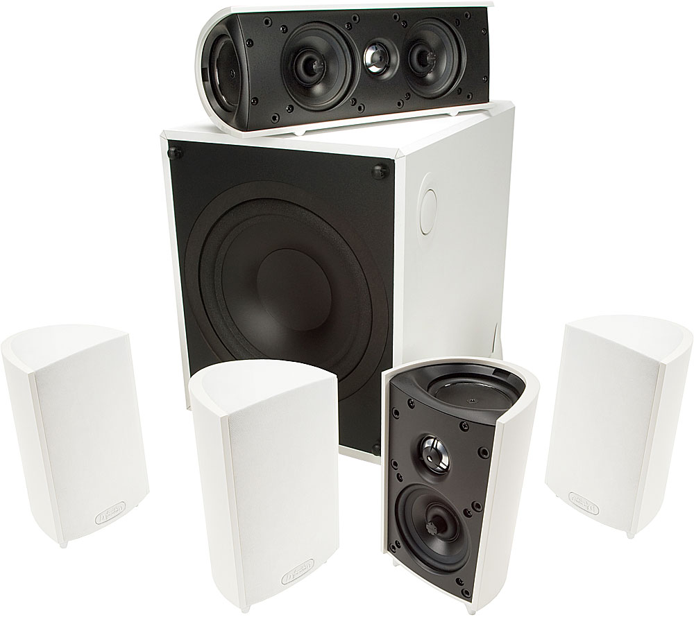 Definitive Technology ProCinema 600 (White) Home theater spe