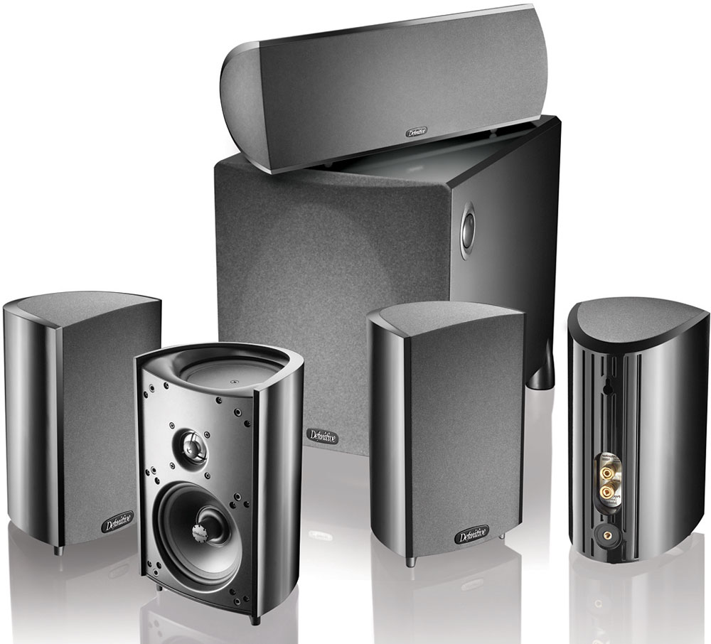 Definitive Technology ProCinema 800 Home Theater Speaker System At Crutchfield